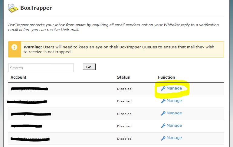 Mengaktifkan perlindungan email domain dari email spam