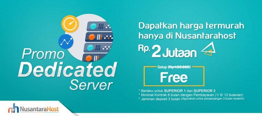 Dedicated server termurah