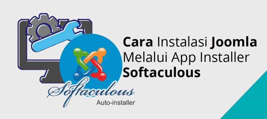 Cara Instalasi Joomla Melalui App Installer Softaculous