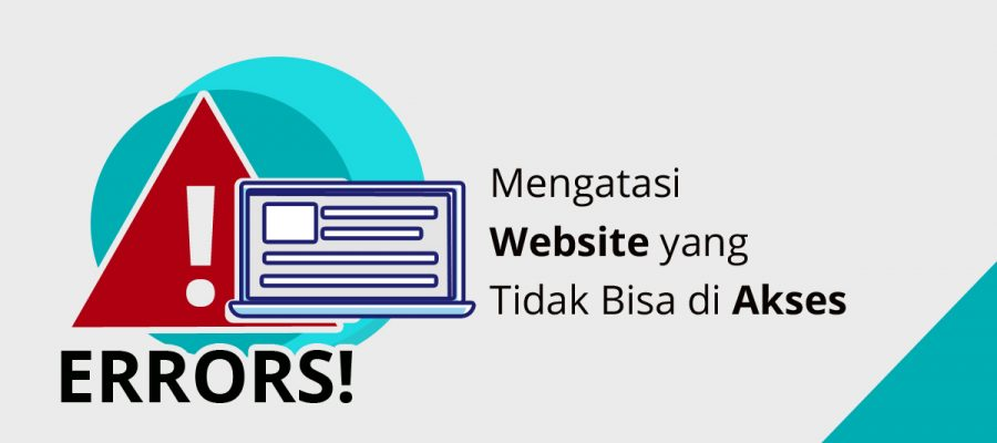 mengatasi website tidak bisa diakses