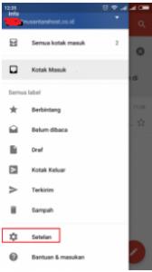 Cara Konfigurasi Email Pada Android melalui Gmail Apps