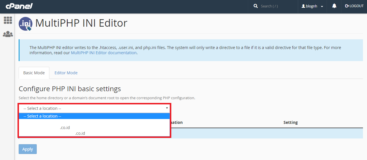 Cara Mudah Mengatur Limit Module PHP Melalui Cpanel