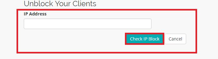 Cara Allow atau Whitelist IP Terblokir